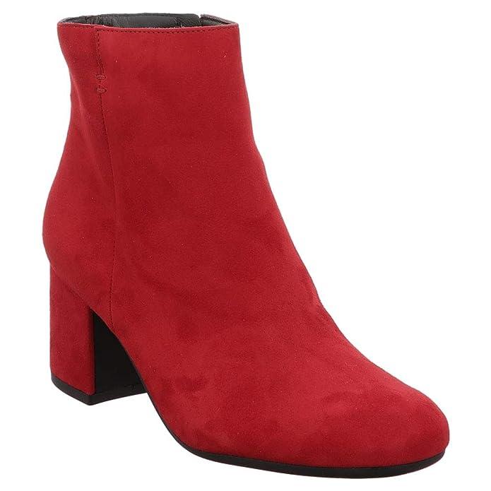 ad6a61b63077 Paul Green Damen Stiefeletten 1225 8997-123 Rot 487669  Amazon.de  Schuhe    Handtaschen