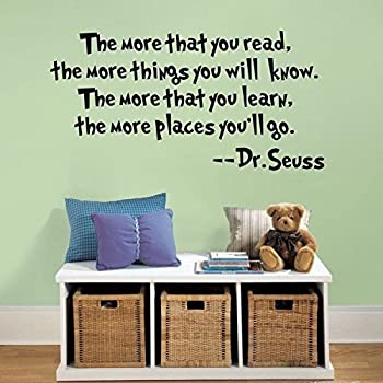 Exceptional Quote It!   The More That You Read The More Things You Will Know Dr Part 19