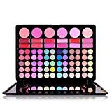 MSQ 78 Colors Makeup Cosmetic Eyeshadow Palette Shimmer Mix Matte Professional Beginner Comestic Tools New Hot (01) by exo.nu