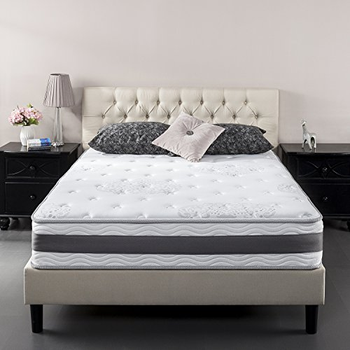 Zinus 10 Inch Gel-Infused Memory Foam Hybrid Mattress, Queen