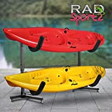 Search : 1006 RAD Sportz Deluxe Freestanding Heavy Duty Kayak Rack Two Kayak Storage