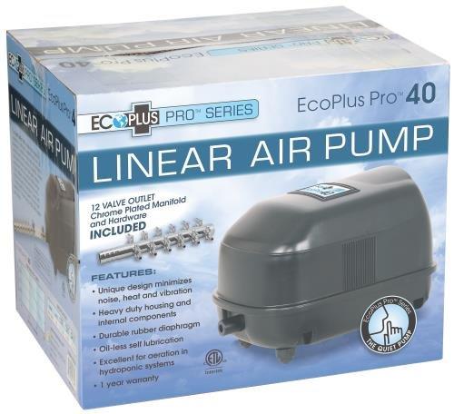 EcoPlus Pro 40 Linear Air Pump 800 GPH (4/Cs)-728374