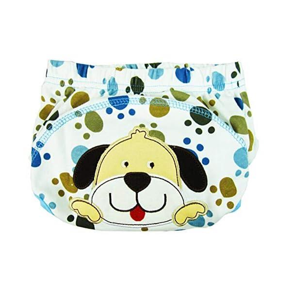 CuteOn 7 pacchetto di Formazione del Bambino del Bambino dei Ragazzi delle Ragazze di Cotone Potty Pantaloni… 7