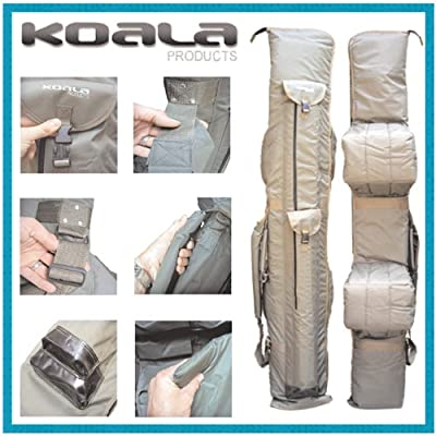 KOALA PRODUCTS ABODE DLX OXFORD 12FT 3+3 9 Rod Holdall