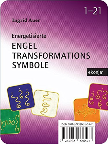 Engel-Transformationssymbole: 21 Karten mit Transformationssymbolen