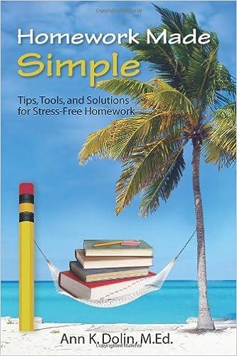 Ann dolin homework tips