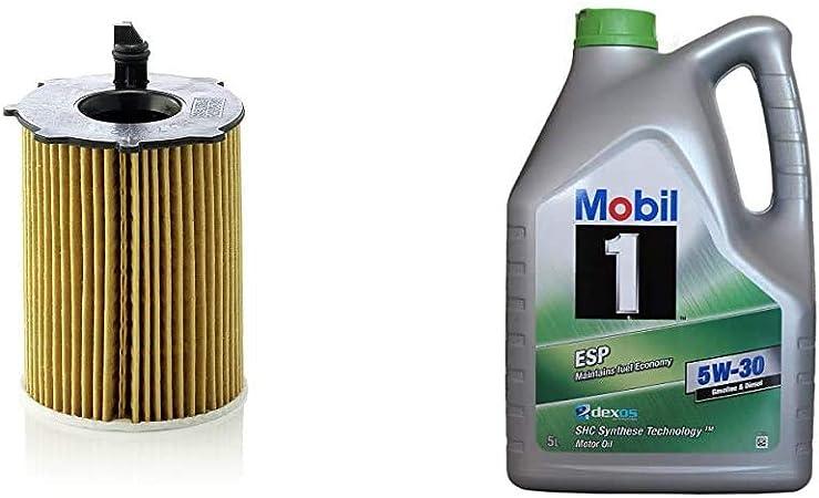 Original Mann Filter Ölfilter Hu 716 2 X Ölfilter Satz Mit Dichtung Dichtungssatz Für Pkw Mobil Motorenöl 1 Esp 5w 30 5l Auto