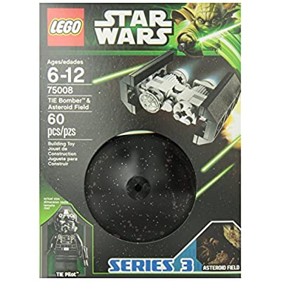 LEGO Star Wars TIE Bomber and Asteroid Field (75008): Toys & Games
