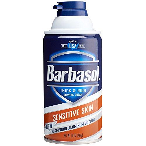 Barbasol Sensitive Thick Shaving Cream