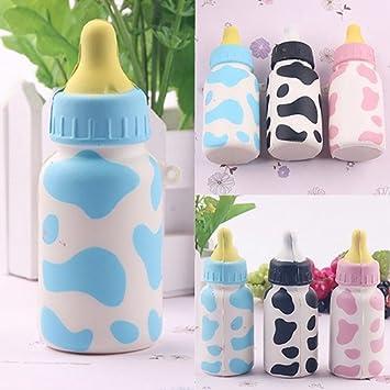 Baby Kids Sound Music Light Milk Bottle Learning Musical Feeding Bottle Toys WT