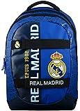 Real Madrid - Mochila Infantil con Ruedas Mixta, Color Azul