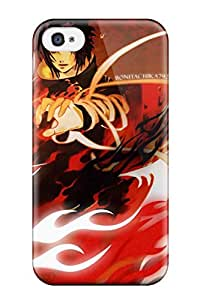 MdxNzLN12158YqYQr Tpu Case Skin Protector For Iphone 4/4s Uchiha Vs Uzumaki : Naruto Uzumaki And Sasuke Uchiha With Nice Appearance