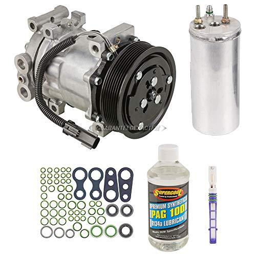 AC Compressor w/A/C Repair Kit For Dodge Dakota 2000 2001 - BuyAutoParts 60-80139RK New