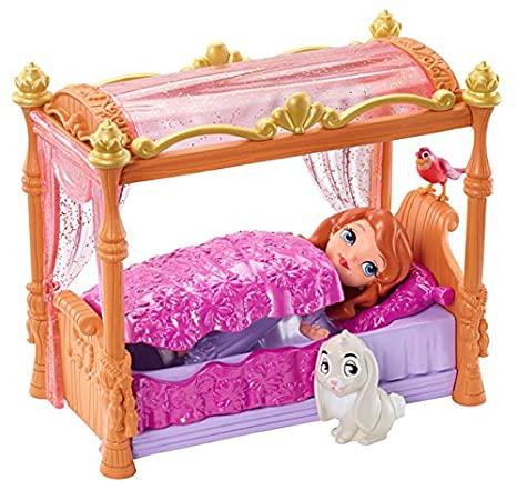 895768d088 Amazon.com  Disney Sofia The First Royal Bed Playset  Toys   Games