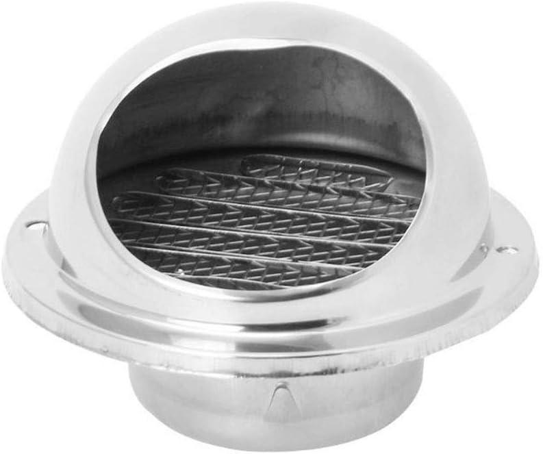 Color : 100mm 70mm 80mm 100mm 120mm 150mm 160mm 180mm 200 Mur Air Vent Grille Conduits Ventilation Extracteur Sortie Louvres H/émisph/ère