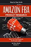 img - for Amazon FBA: Product research (Volume 1) book / textbook / text book