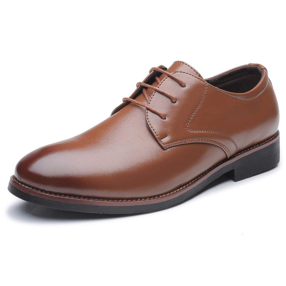 Phil Betty Mens Dress Shoes Business Office Lace Up Black Brown Formal Oxford Shoes