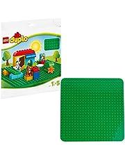 LEGO 2304 DUPLO Classic Stor Grön Byggplatta, Kreativ Leksak för Små Barn, Samling Tillägg