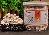 Helen Ou@ Fukangtang Natural White Poria Without Sulfur High Quality Poria 250g/8.82oz/0.55lb 纯天然白茯苓