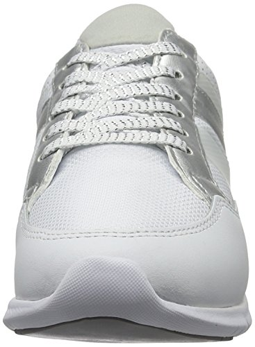 Tommy Hilfiger S1285kye 14c1, Zapatillas para Mujer Blanco (Bianco)