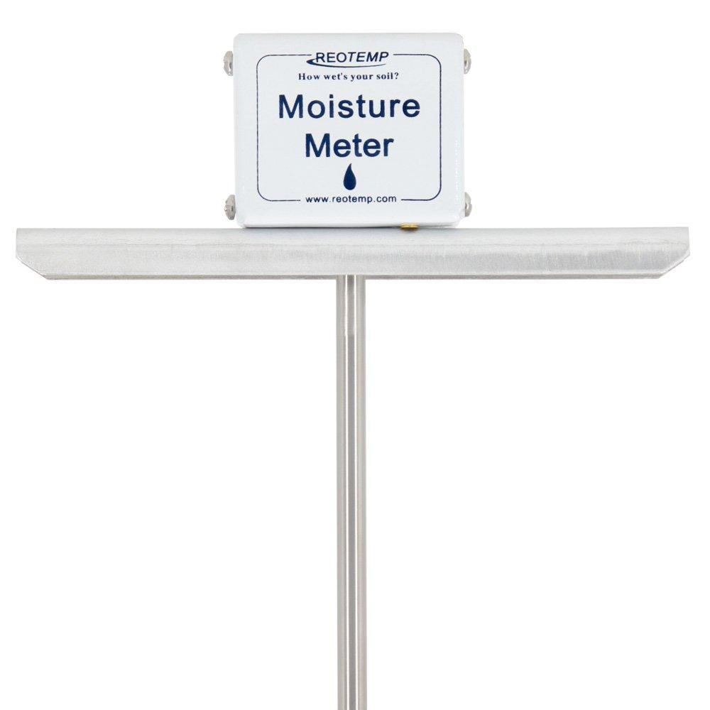 REOTEMP Garden and Compost Moisture Meter (24 Inch Stem)