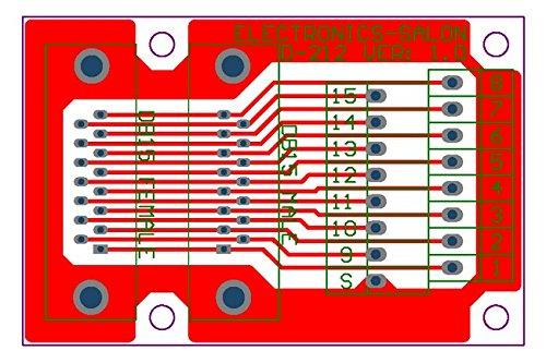 connecteur. Electronics-Salon D-Sub DB15 m/âle//femelle en-t/ête Breakout Board Terminal Block