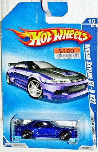 Hot Wheels 2009-156 Dream Garage BLUE 2001 Nissan Skyline GT-R R32 1:64 - Vw R32 Model