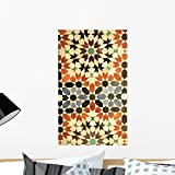 Wallmonkeys Royal Palace Tiles Marrakech Morocco North Africa Wall Decal Peel and Stick Graphic WM41236 (24 in H x 14 in W)