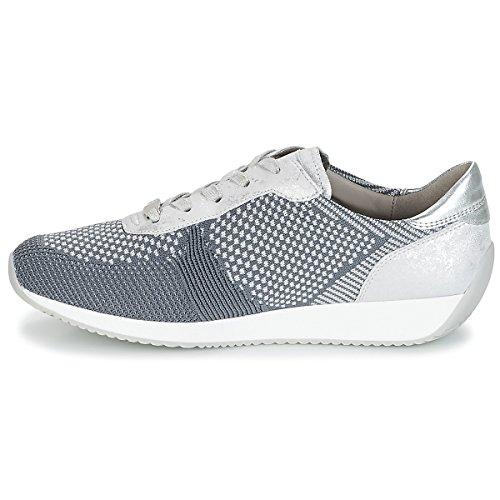 Grau hellgrau Donna Ara 10 grau Sneaker Silber Pqwta1