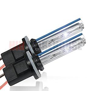 HID-Warehouse HID Xenon Replacement Bulbs - 880/881 8000K - Medium Blue (1 Pair) - 2 Year Warranty