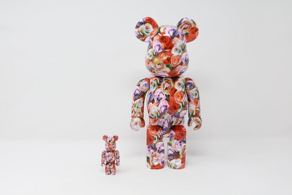 Mika Ninagawa Medicom Disney's The Nightmare Before Christmas  Jack Skellington 400% & 100% Bearbrick Figure 2Pack