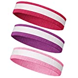 Meanch Wristband Perfect for Basketball Running, Football Tennis- 6PCS