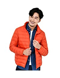 Mangadua Lightweight Puffer Coat Packable Stand Collar Duck Down Jacket