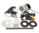 New Arrival 250W Electric Conversion Kit For Common Bike Left Chain Drive Customized For Electric Geared Bicycle Derailleur(Twist Kit)