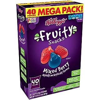Fruity Snacks bliza7 Mixed Berry, Gluten Free, Fat Free 3