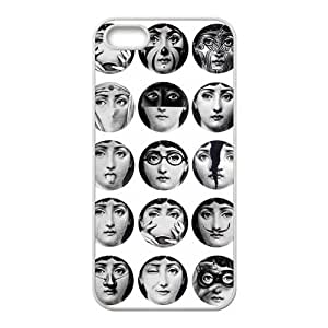 WWWE Piero Fornasetti Cell Phone Case for Iphone ipod touch4
