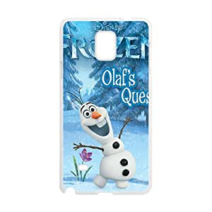 Frozen happy snow baby Cell Phone Case for Samsung Galaxy Note4