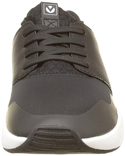 negro Baskets Victoria Noir Femme Basses Neopreno xf0Rq0PX