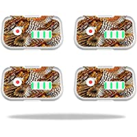 Skin For DJI Phantom 3 Drone Battery (4 pack) – Pheasant Feathers | MightySkins Protective, Durable, and Unique Vinyl Decal wrap cover | Easy To Apply, Remove, and Change Styles | Made in the USA