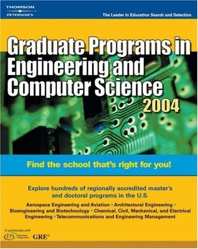 DecisionGd: GradPrg Eng ComSc 2004 (Peterson's Decision Guides : Graduate Programs)