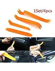 LUFFYLIVE Conjunto de ferramentas para remoção de painel de carro, kit de ferramentas para furar o carro, kits de desmontar áudio para painel de carro, 4 peças