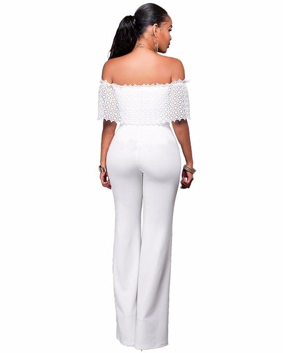 Vestidos Enterizos Largos Ropa De Moda para Mujer De Fiesta Sexys Blancos Negros Casuales Formales Elegantes VE0058