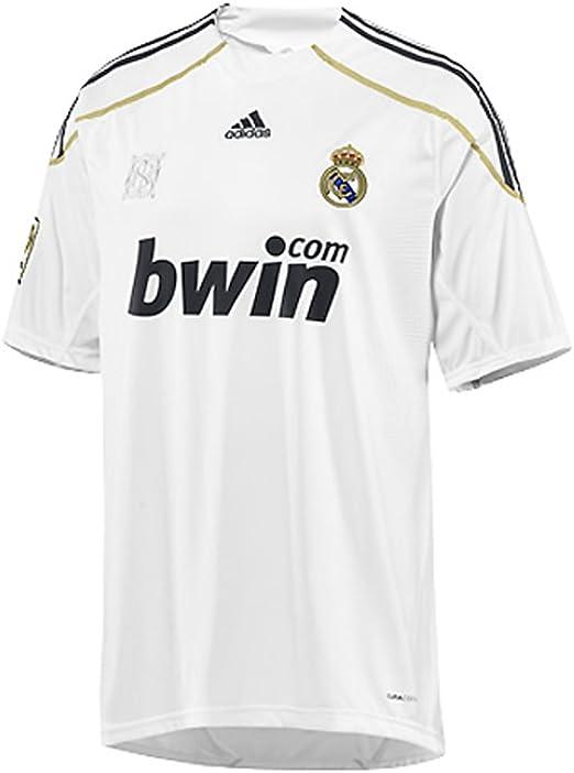 Adidas - REAL MADRID 1ª CAMISETA 09/10 color: Blanco talla: XL: Amazon.es: Deportes y aire libre