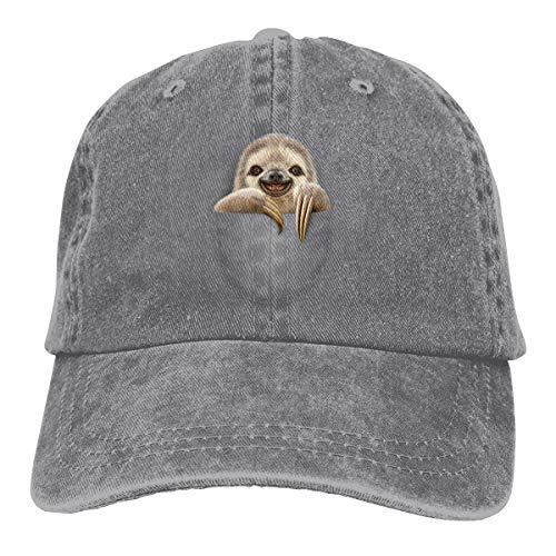 Vintage Jeans Adjustable Baseball Cap Cotton Denim Dad Hat ()