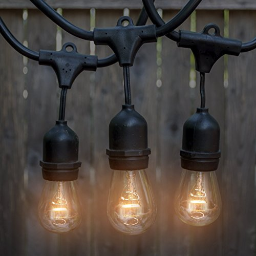 Outdoor & Indoor Edison Style String Lights - Commercial Grade Heavy Duty... eBay