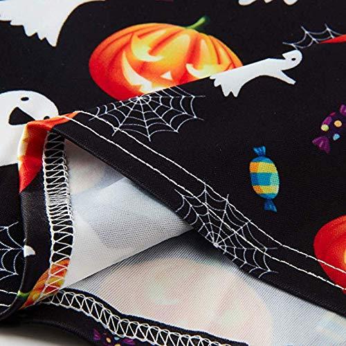 ALOOCA Girls 3D Printed Summer Sleeveless Round Neck Dress