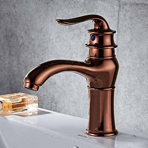 Makej Bathroom Faucet Basin Cold and Hot