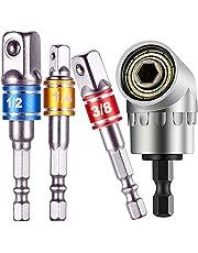 "3Pcs 1/4"" 3/8"" 1/2""Cordless Impact Grade Socket Adapter"