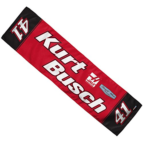 WINAV NASCAR Kurt Busch Cooling Towel, 8 x 30, Team Color
