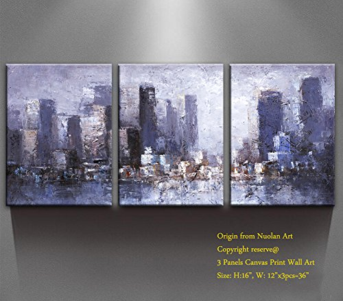Canvas Wall Art   Newyork Skyline  Modern Art Canvas Print City Scene Landscape Oil Paintings Wall Art For Office Wall Decor   Home Decoration  P1l013